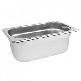 BAC GASTRONORMES INOX GN 1/4 - PROFONDEUR 150 MM