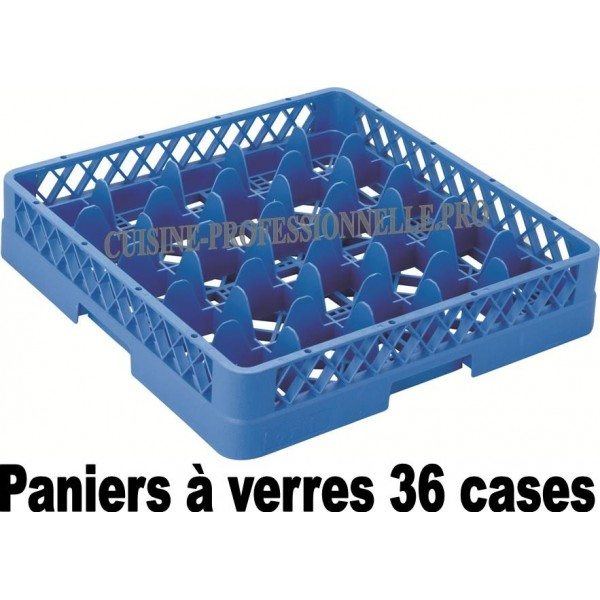 PACK COLLECTIVITE - PANIERS A VERRES 36 CASES