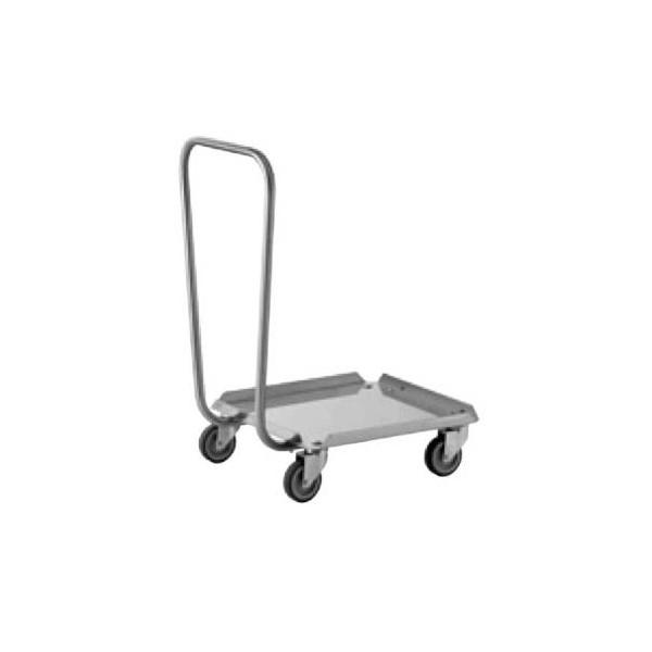 Chariot inox porte-casiers