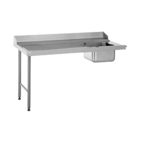 TABLE ENTRÉE RACCORDABLE A DROITE LONGUEUR 1100 MM
