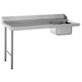 TABLE ENTRÉE RACCORDABLE A DROITE LONGUEUR 1600 MM