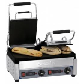 Grill panini professionnel double - Electrique