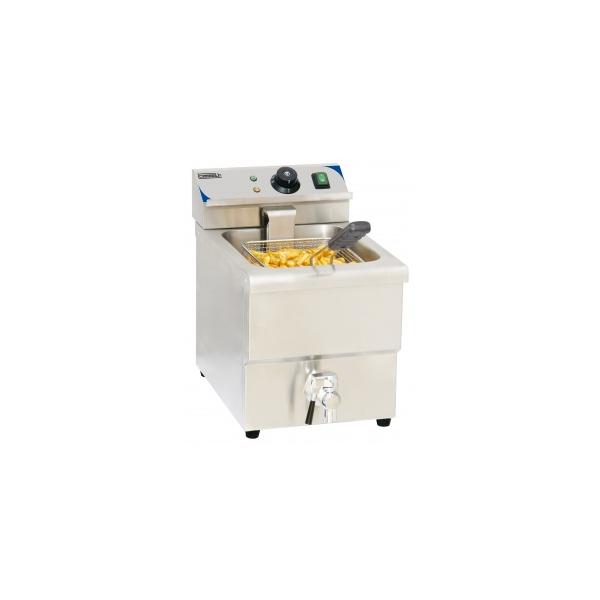 Friteuse électrique à poser 8 litres avec vidange