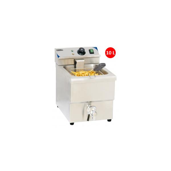 Friteuse électrique à poser 10 litres avec vidange