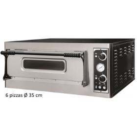 Four à pizza professionnel - 6 pizzas/35 cm - Electrique