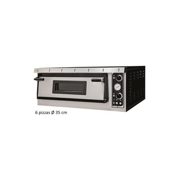 Four à pizza professionnel électrique - 6 pizzas/35 cm - TOP