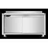 Meuble bas inox professionnel 1800x700x950 mm SILBER