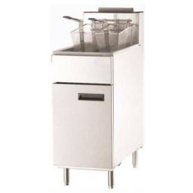 Friteuse professionnelle à gaz 26 litres