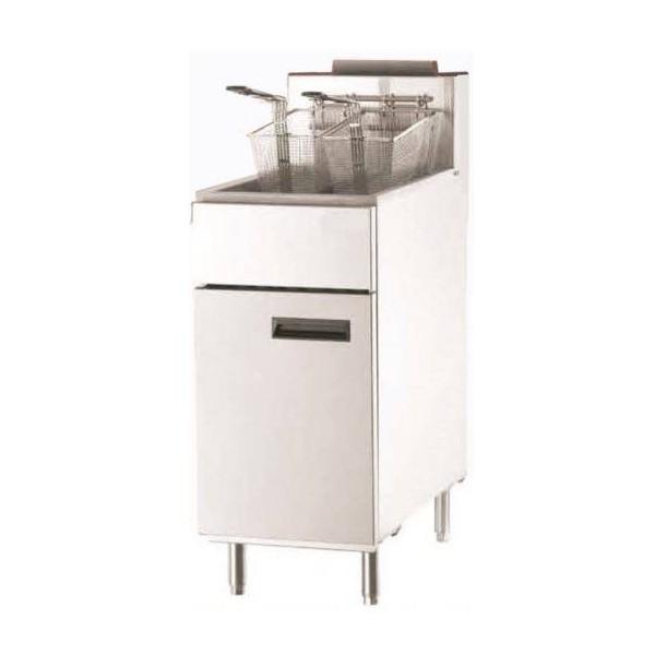 Friteuse professionnelle à gaz 29 litres