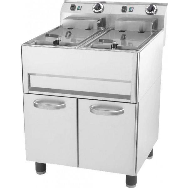 Friteuse professionnelle électrique 2x13 litres