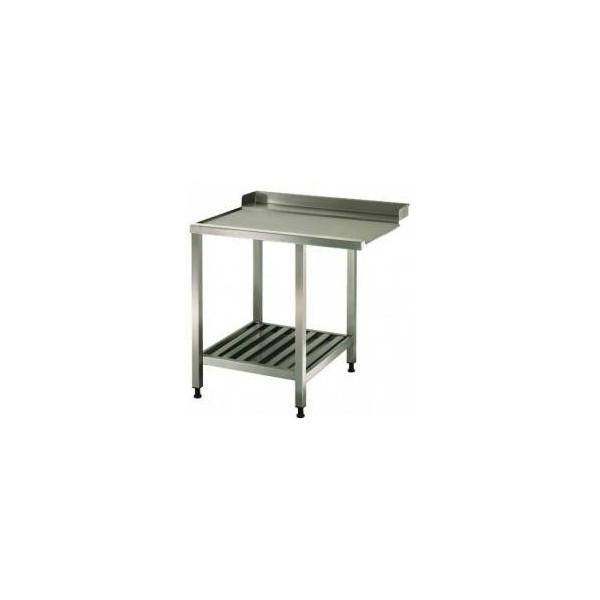 Tables lisse de lave-vaisselle - 1600 mm