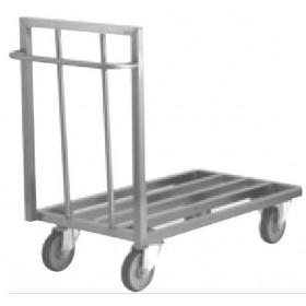 Chariot plate-forme aluminium