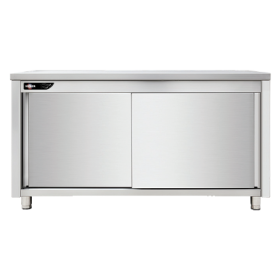 Meuble bas inox central 1400x600x850 mm