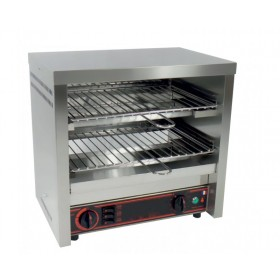 Toaster professionnel multifonction 2 étages